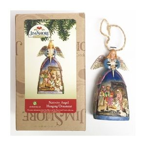 Jim Shore Nativity Angel Hanging Ornament